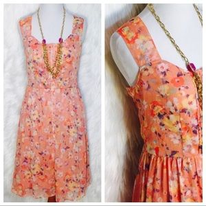 LC Lauren Conrad • Floral Summer Dress
